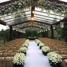 New Wedding Garden Photography Simple 44 Ideas Outdoor Wedding Venues, Indoor Wedding, Garden Wedding, Wedding Ceremony, Wedding Goals, Wedding Themes, Wedding Styles, Dream Wedding, Wedding Places