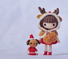 Amigurumi Christmas doll. (Inspiration).