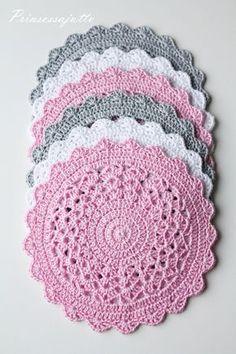 Princesa História: crochet