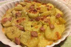 Patate al forno con prosciutto e scamorza - Fidelity Cucina