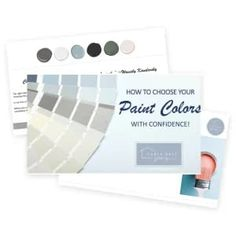 How to choose paint colors with confidence! #color #colorpalette #colorpaletteideas #colorscheme #colorschemeideas #interiorcolorpalette #interiorcolorschemes #interiorcolorpaletteideas #interiorcolorschemeideas Oak Kitchen Cabinets, Kitchen Paint, Wood Cabinets, Neutral Paint Colors, Best Paint Colors, Honey Oak Trim, Fireplace Feature Wall, Blue Green Paints, Kitchen Remodel