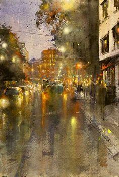 ILTA RUNEBERGINKADULLA Watercolours, Painting, Art, Art Background, Painting Art, Kunst, Paintings, Performing Arts, Painted Canvas