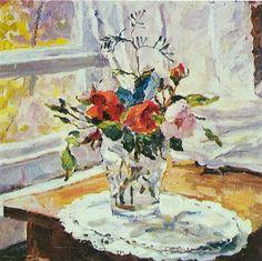 Roses - Pyotr Konchalovsky
