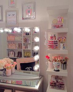 Over-the-Top Makeup Vanities For 2017 | POPSUGAR Beauty