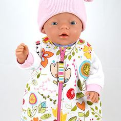 Gratis Poppenkleertjes Patronen voor BABYBorn®* Poppen - Wollyonline Blog Sewing Doll Clothes, Sewing Dolls, Diy Clothes, Baby Born Clothes, Bitty Baby Clothes, Doll Sewing Patterns, Baby Patterns, Sewing For Kids, American Girl