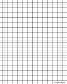 Handy To Have  Graph Paper Templates In Various Sizes  Fantastic