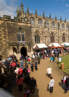 The Bishop Auckland Food Festival takes place every April in the grounds of Auckland Castle.. Plan your visit around the festival and take a taste of Durham home with you!