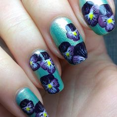 Pansies, I want to learn how to do these!