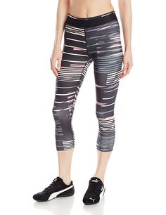 1504d2f97f011 Puma Women's WT All Eyes On Me 3/4 Tights *** This is an Amazon Affiliate  link. Continue to the product at the image link.