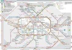 Berlin Bahn stops in English