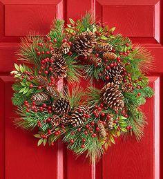 really pretty wreath 1800flowers