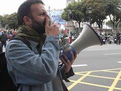 22/05/2012 : Une manifestation, dans les rues de Barcelone (Maxence Kagni)