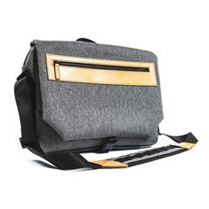 A sleek and luxurious messenger bag from VENQUE. Our first generation of messenger bags, the Street Messenger 1.0 is crafted with our unique Quanta Fabric and trimmed with premium leather. Functional, body-friendly, and soft to the touch, the Street Messenger is perfect for active urban lifestyles. The multi-compartments also keeps your valuables neatly organized. We also designed the bag to be multi-functional, and can be worn over the shoulder, cross-body, or by hand. Details Top Grade…