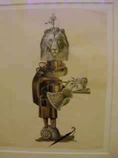 André Breton, Yves Tanguy, Jacqueline Lamba, Cadavre exquis, 1938