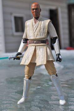 Mace Windu Black Series (Star Wars) Custom Action Figure