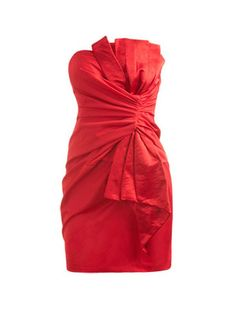 How fabulous would this red Bow Mini Tube Dress from Arden B be for a party? Bad Dresses, Red Cocktail Dress, Sexy Party Dress, Tube Dress, Bridesmaid Dresses, Clothes, Dress Red, Bow, 21st Party