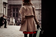 Trench and dress, length how-to.