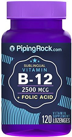 B12 2500 mcg Lozenges  Folic Acid 400 mcg 120 Lozenges *** Read more reviews of the product by visiting the link on the image.