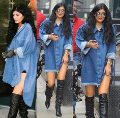 How to Chic: KYLIE JENNER STREET STYLE