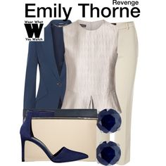 Inspired by Emily VanCamp as Emily Thorne.
