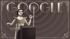 Learn to play the theremin with Clara Rockmore! #GoogleDoodle