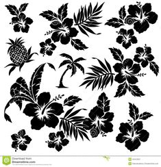 tropical-plant-flower-i-designed-painting-continues-repeatedly-vector-work-42412557.jpg (immagine JPEG, 1300 × 1349 pixel) - Riscalata (54%)