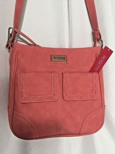Rosetti-Handbag-Shoulder-Strap-Salmon-Pink-Just-Stitched-Ladies-Tote-69-Value