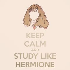 Study like Hermione #harrypotter // follow us @motivation2study for daily inspiration