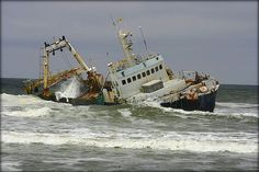 Shipwreck II by Mabina Mogale, via Flickr