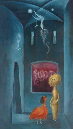 Leonora Carrington davidcharlesfoxexpressionism.com #surreal #surrealism #surrealist #expressionism #painter #abstract #leonoracarrington