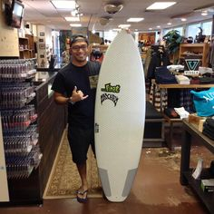 "The Lib Tech Short Round just hit HSS. Congrats Tyler @mursetyleron being the very first person to own this board!!! Enjoy your 5'6"" and please give us your feedback on the board! #mahalo #hawaiiansouthshore #yoursurfboutique #surfboard"