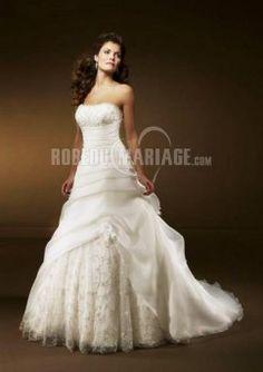 Robe de mariage pas cher robe mariée ball gown pas chère en Lace
