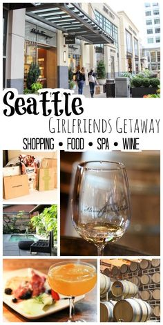 Enjoy a weekend getaway from Seattle - perfect for planning a girlfriends getaway! With shopping, food, spas, and wine tasting - great way to reconnect and get away!