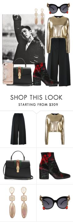 """Untitled #228"" by danielagreg ❤ liked on Polyvore featuring Alexander McQueen, Yves Saint Laurent, Gucci and Strategia"