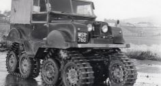 this Land Rover tracked vehicle.