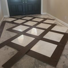 Wood and tile floor designs Transition Space Planning Doubletreehouse Frontentrance Wood Tile Floors Hardwood Floor Colors Stone Flooring Hardwood Pinterest Basketweave Tile And Wood Floor Design Pictures Remodel Decor And