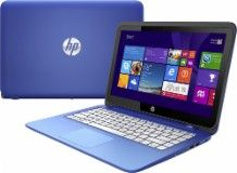 "HP - Stream 13.3"" Touch-Screen Laptop - Intel Celeron - 2GB Memory - 32GB Flash Storage - Horizon Blue/Light Turquoise - 13-c002dx - Best Buy"