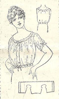 http://littlegreybungalow.blogspot.de/2009/03/sewing-corset-cover-from-1916.html