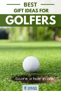 I did some research and found some great, original golf gift ideas for birthdays, holidays, anniversaries and more. I even found gifts for people who love to watch the sport. So, Score a Hole in One with These Great #Gifts for #Golfers.