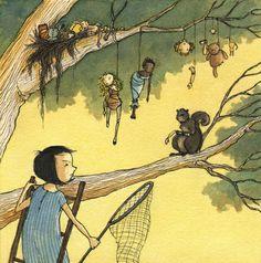 Squirrel Thief by Eliza Wheeler
