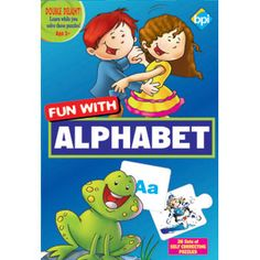 BPI FUN WITH ALPHABET — The Alphabet puzzle game helps you show your child the fun side of learning!