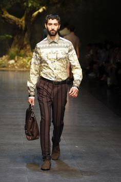 Dolce & Gabbana Man Catwalk Photo Gallery – Fashion Show Summer 2014