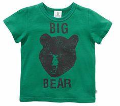 THE BIG BEAR TEE - JADE
