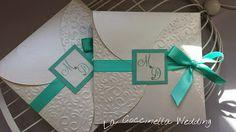 La Coccinella Wedding: Partecipazione in Verde Tiffany