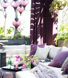 Brian Patrick Flynn, turns his lackluster Atlanta deck into a modern outdoor living room - Hayneedle.com