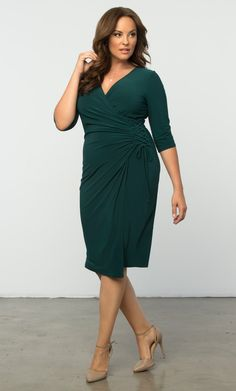 Check out the deal on Vixen Cocktail Dress at Kiyonna Clothing