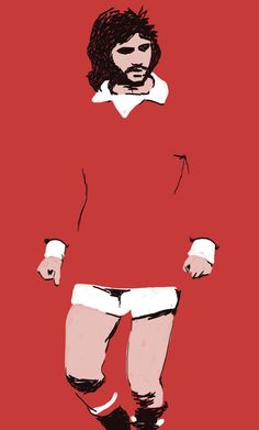 George Best Illustration