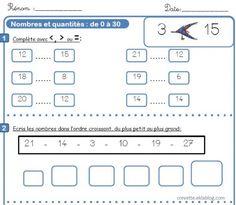 Fichier de numération CE1 CE2 - L'école de Crevette