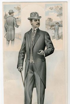 """1909-1910, Plate 011. Fashion plates, mens 1880-1939. The Costume Institute Fashion Plates The Metropolitan Museum of Art, New York. Gift of Woodman Thompson (b1752524x) 
