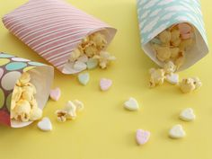 DIY POPCORN BAGS (NATIONAL POPCORN DAY)